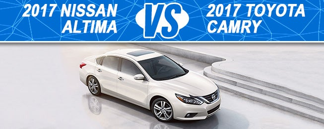 2017 Nissan Altima Vs Toyota Camry In Madison Wi